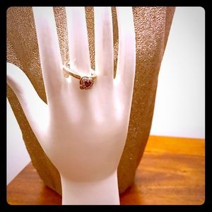 Beautiful Pandora Heart Key Ring